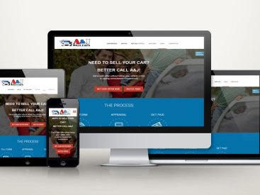 A&J Buys Cars - Website Design