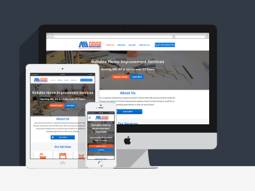 Arias Home Improvement  - Website Design