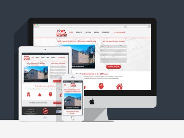 DGA Construction - Website Design