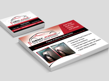 Dent Pro-Postcard & Business Card Design