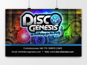 Disco Genesis- Poster Design