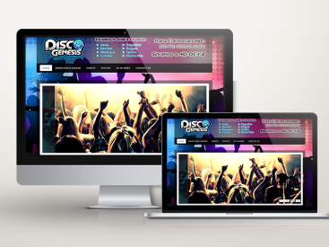 Disco Genesis - Website Design