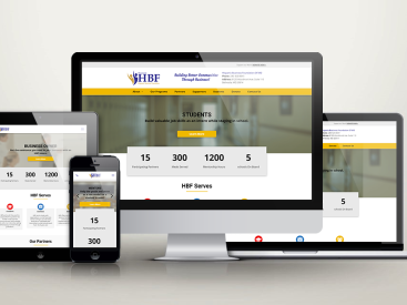 Hispanic Business Foundation - Website Design