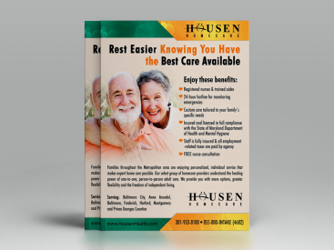 Housen- Flyer Design