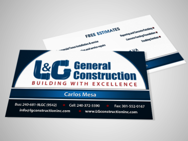 L&G- Business Card Design