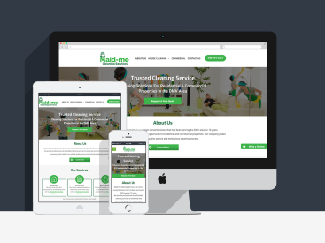 Maid-me Cleaning Services - Website Design