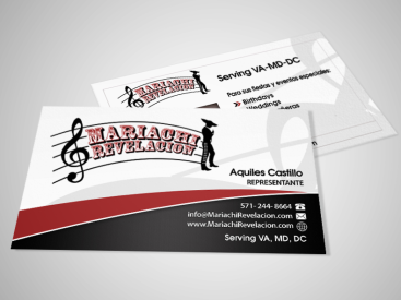Mariachi- Business Card Design