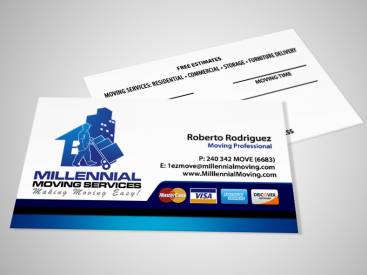 Millennial- Business Card Design