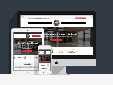 Napky Contractor Services - Website Design