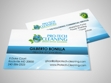 Protech- Business Card Design