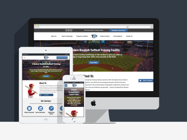 Top Prospects Training Facility - Website Design