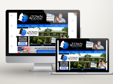 Town&Country Realty - Website Design