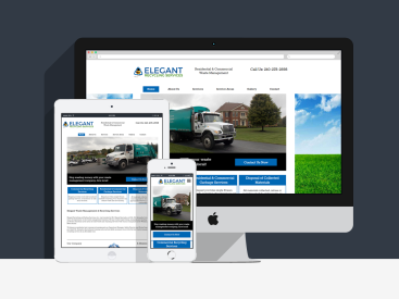 Elegant Recycling - Website Design