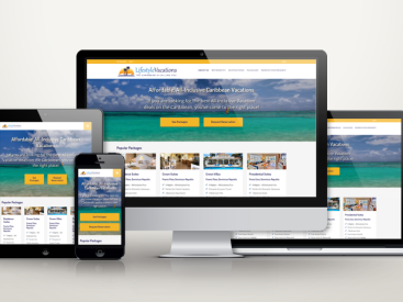 Fun Lifestyle Vacations - Website Design