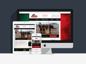 Mariachi Ay-Ay-Ay - Website Design