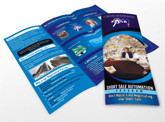 Custom Brochure Design - Xtreme Websites