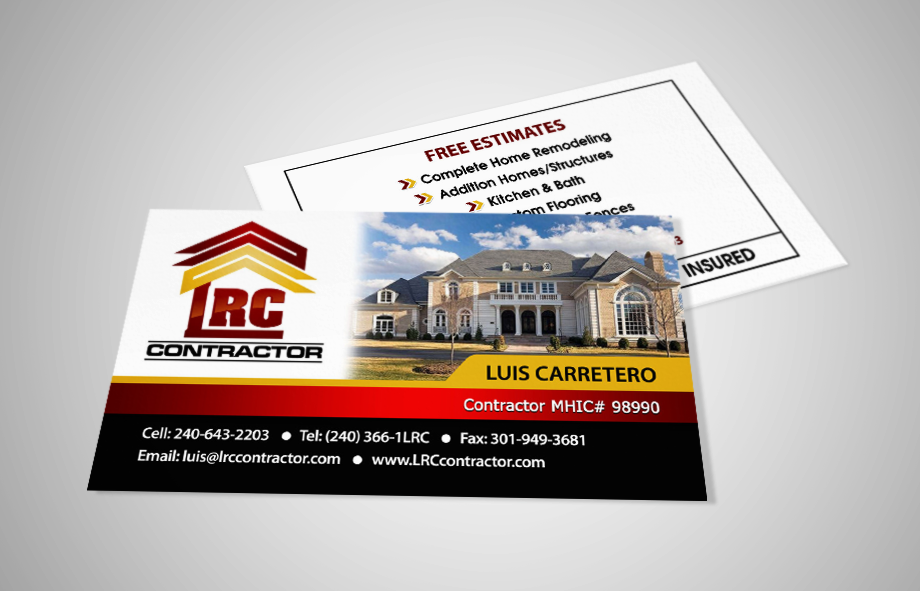 Custom Business Card Design And Print