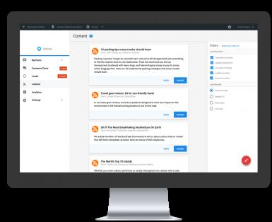 Social Platform Content Generator