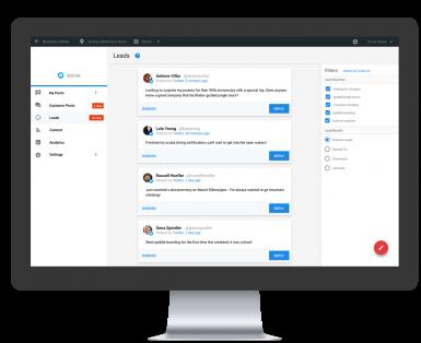 Social Platform Lead Generator