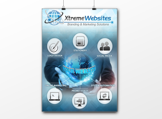 Custom Poster Design - Xtreme Websites
