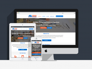 Arias Home Improvement  – Website Design