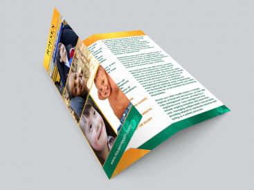 Housen Children- Brochure Design