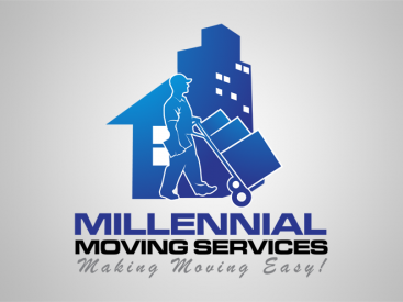 Millenial Moving Services- Logo Design