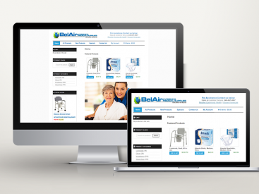 Belair Medical Supplies – Website Design