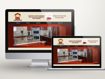 LRC Construction – Website Design