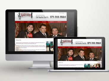 Mariachi Revelacion – Website Design