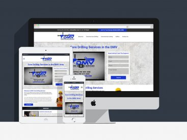 DMV Concrete Drilling - Website Design