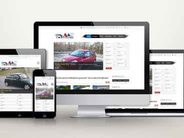 A&J Sells Cars - Website Design