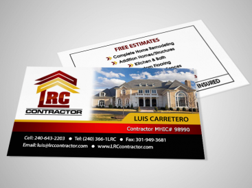 LRC- Business Card Design
