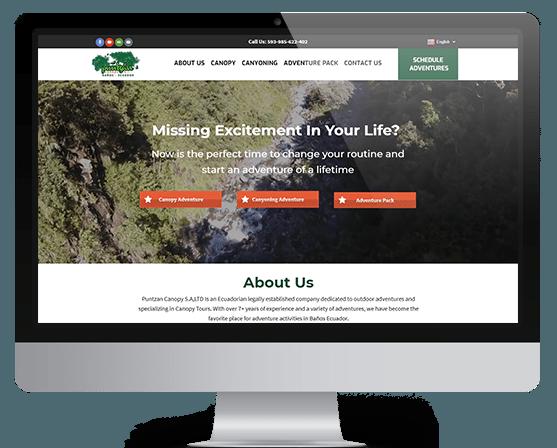 outdoor adventure websites